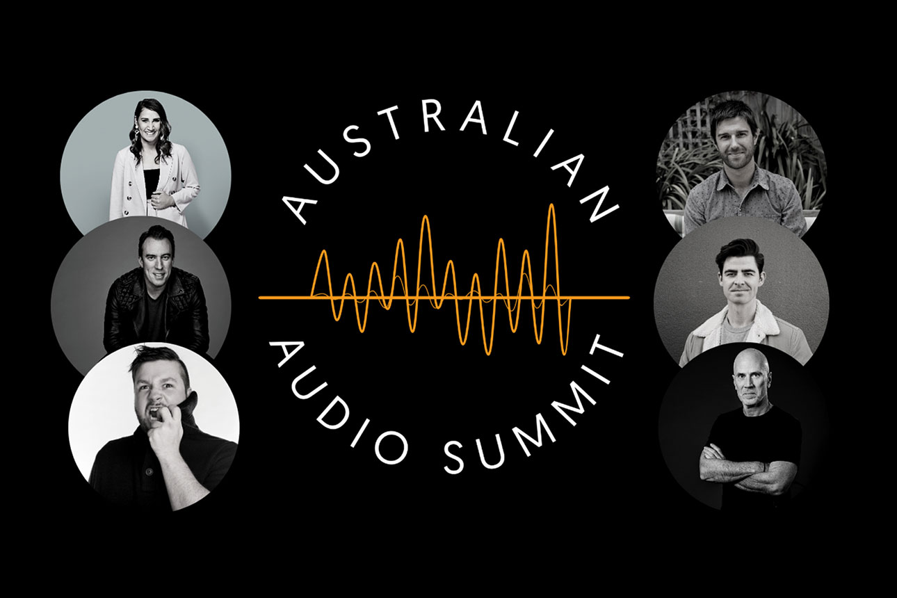Auscast Network partners with the Australian Audio Summit